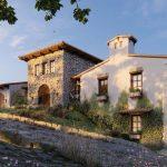 プロジェクト:LUMION10.3で田舎の別荘のレンダリングを作成する