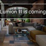Lumion11リリース間近