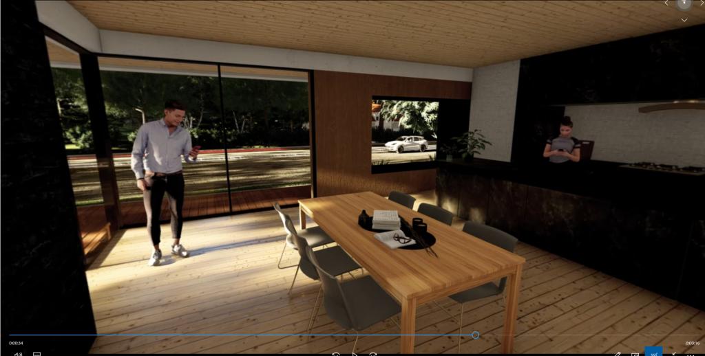 360°パノラマ画像 作成手順1 -Lumionでモデルを作成-