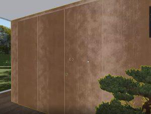Lumionでマテリアルに風化を設定する方法