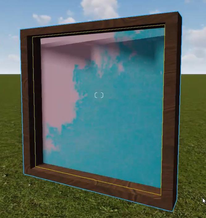 Lumion マテリアルの一部を透明にする 【マテリアルの一部分を透明にする道のり2】SketchUpで一工夫、部分透明をより効果的に見せる準備