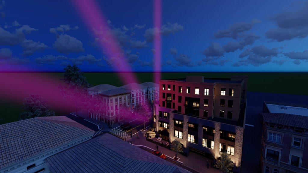 マテリアルの活用術 スポットライトの配光をLumionで表現する方法